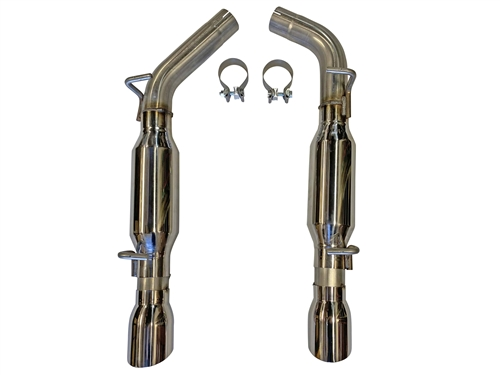 2015 - 2020 Charger V6 MRT Version 1 Axle-Back Performance Exhaust System 92G158