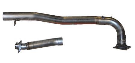 2015 - 2020 Subaru WRX MRT Version 1 J-Pipe (without Catalyst) and Mid-Pipe Only 92P116