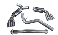 2008-14 Subaru Hatchback WRX/STI Cat-Back Performance Exhaust System 92p111