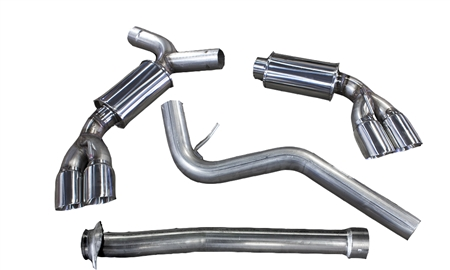 2011-2014 Subaru WRX/2008-2014 STI Hatchback MRT Version 1 Cat-Back Performance Exhaust System 92P111
