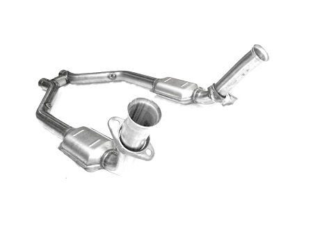 2007 - 2010 Shelby GT500 MRT MaxFlow Performance H-Pipe with High Flow Cats 93A600