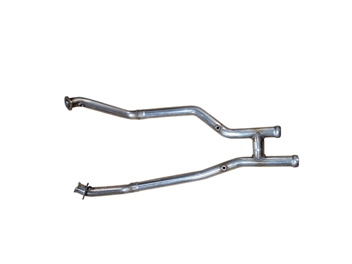 1999 - 2004 Mustang GT, Bullitt, Mach 1, Cobra MRT MaxFlow Performance H-Pipe without Cats 93B001