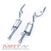 1979-1993 Mustang V8 ChamberFlow After-Cat Performance Exhaust System with Turn-Down Tips