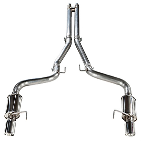 2015 - 2017 Mustang GT MRT Interceptor Cat-Back with MaxFlow H-Pipe Performance Exhaust System 93U911