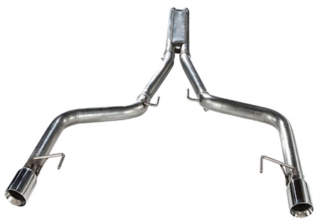 2015 - 2017 Mustang GT MRT KR Cat-Back w/ Drone Management System Performance Exhaust System 93U914