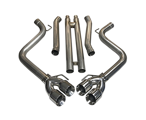 2018 - 2019 Mustang GT MRT KR Cat-Back with H-Pipe Performance Exhaust System 93U918