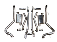 1965-1970 Mustang V8 ChamberFlow After Manifold Performance Exhaust System