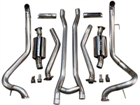 1965-1970 Mustang V8 MaxFlow After Manifold Performance Exhaust System