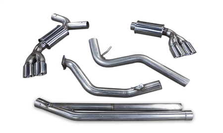 2008 - 2014 Subaru WRX, WRX STI Hatchback MRT DMS Turbo-Back Performance Exhaust System without Cats 98P111