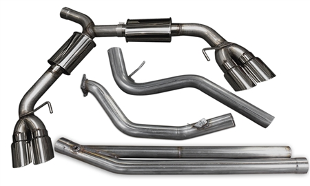 2015 - 2018 Subaru WRX STI MRT DMS Turbo-Back Performance Exhaust System without Cats I 98P114