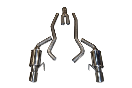 2015 - 2020 Mustang EcoBoost Cat-Back Performance Exhaust System 98U906