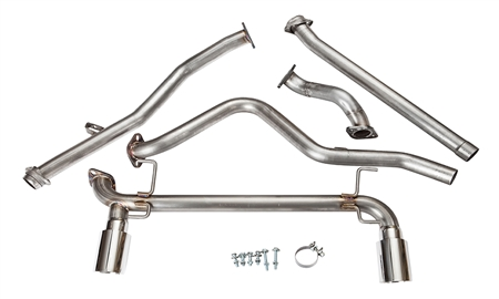 2013 - 2018 Toyota 86 MRT Header-Back Performance Exhaust System with No Resonator 98Z150T