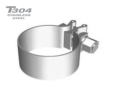 2.25in Stainless Steel Band Clamp