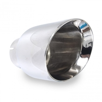 4in Round, angle cut Exhaust Tip