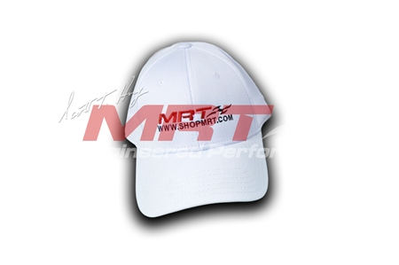 White MRT Performance Hat