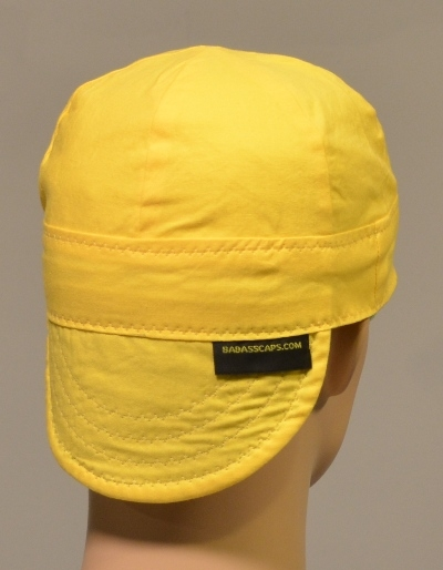 8141e05bd welding hat solid yellow