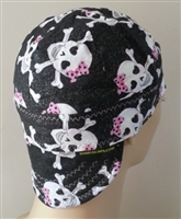 pink bows welding hat