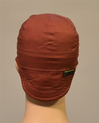 brown welders beanies