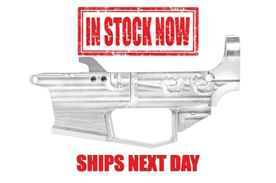 AR-9 80% Lower - Billet 6061 - RAW - Glock Mag Compatible