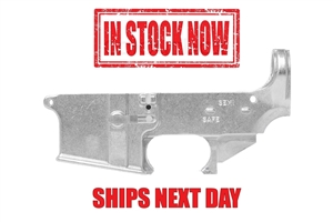 AR-15 80% Lower - Forged 7075-T6 - Raw