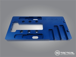 AR-15 Router Jig guide plate
