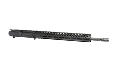 "18"" AR-308 Upper Receiver - 1:10 Twist, Parkerized Finish, SOCOM Barrel, 15"" M-LOK Rail."