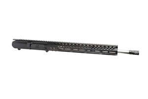 "18"" AR-308 Upper Receiver - 1:10 Twist, Stainless Steel, SOCOM Barrel, 15"" M-LOK Rail."