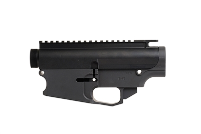 DPMS AR-308/AR-10 Forged Stripped Upper Receiver and Billet 80% Lower Matched Set - Black