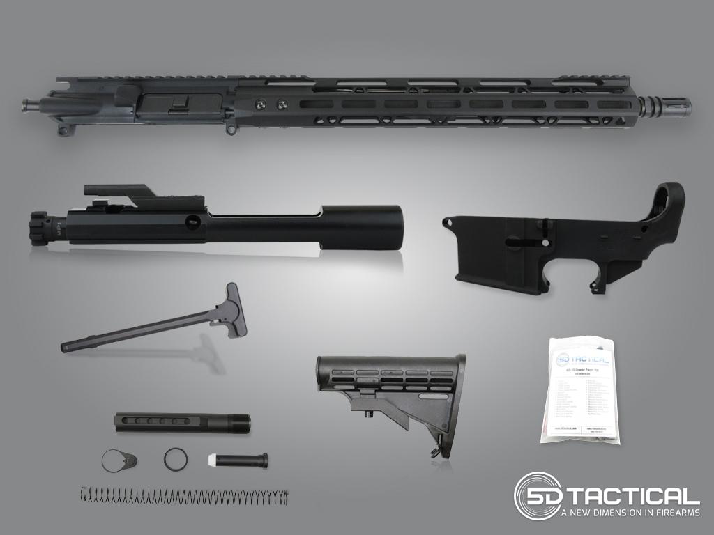 7 62 X 39 Ar Build Kit 80 Build Kit 5d Tactical