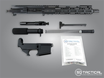 Complete AR-15 Pistol 80% Build Kit - Choose Upper Receiver