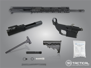 Complete AR-9 80% Build Kit - Carbine Length