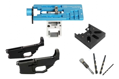 AR-15/AR-308 Freedom Kit - Router Jigs, 80% Lowers and Tools