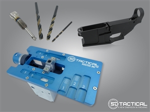 AR-15 80% Lower and Jig Kit with Tools