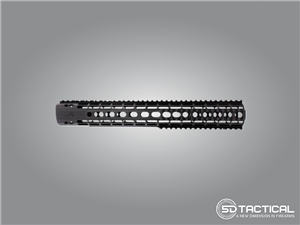 Aero Precision Quad Rail - Black