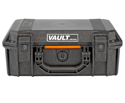 Pelican Vault - Medium - With Foam - Black