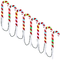 LED Candy Cane Pathway Stakes