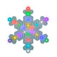 LED Hanging Snowflake