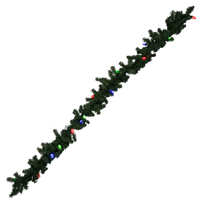 LED Lighted Garland