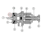 1212-003-000 piston assembly for TS1212 valve