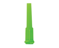 8001217 Tapered Tip Lime pk/50