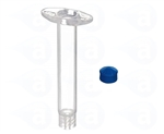 3cc Syringe Barrel with blue easy flow piston 903-NEF