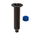 10cc black Syringe Barrel with blue easy flow piston