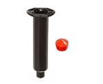 10cc black Syringe Barrel with red flat wall piston