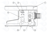 TS924 Footvalve body assembly 924-16