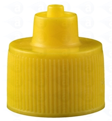 AD4C-YELLOW 4oz bottle cap pk/10