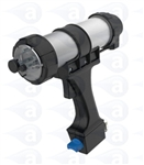 50ml 10:1 ratio pneumatic cartridge gun with adjustable regulator