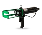Handheld pneumatic dual cartridge gun 200ml and 400ml 1:1/ 2:1 ratio
