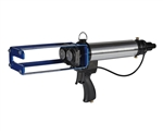 Pneumatic cartridge gun 400ml multi ratio