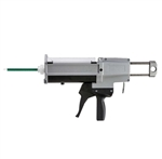 Handheld manual dual cartridge gun 400ml 10:1 ratio