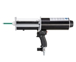 Handheld pneumatic dual cartridge gun 400ml 10:1 ratio DP400-100-10